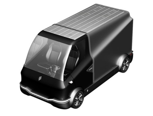 furgone elettrico - fse - wallbox - ricarica automatica veicoli elettrici auto elettriche