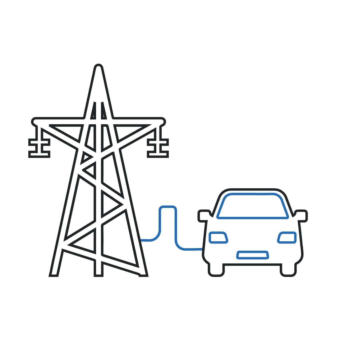 ricarica auto elettrica - conduzione - colonnina- wallbox-dazebox-dazetechnology
