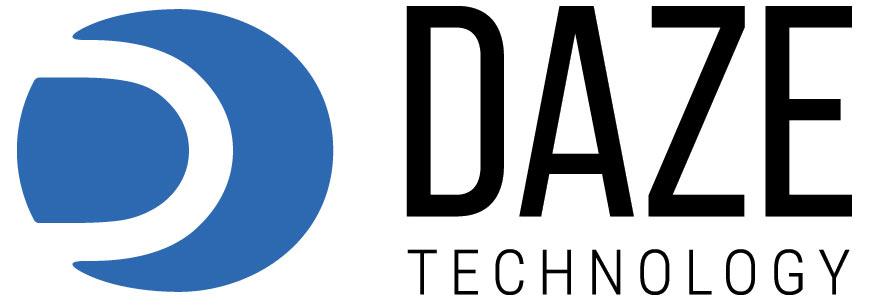 Versione nera logo DazeTecnology sistemi di ricarica auto elettriche