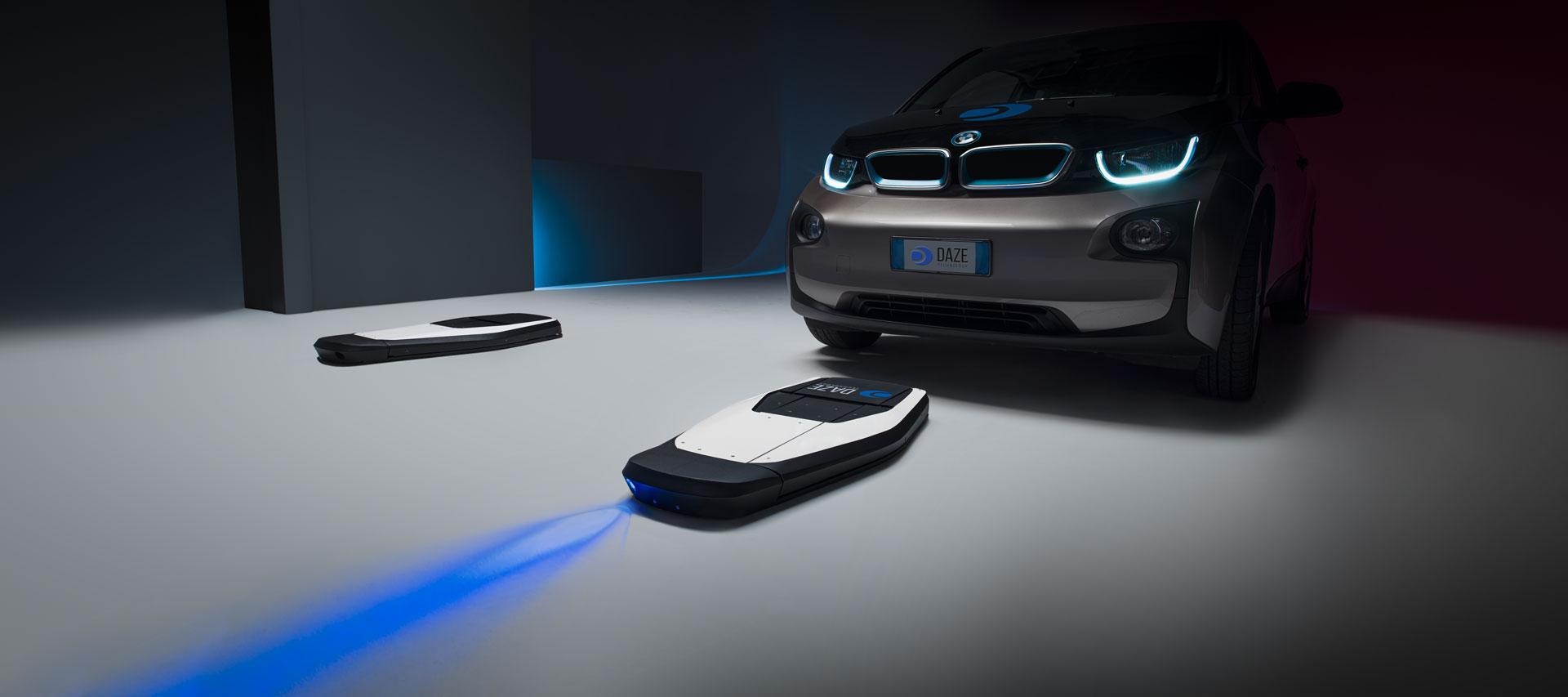 immagine dimostrativa sistema di ricarica per auto elettrica dazetecnology