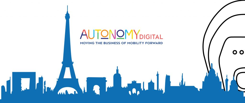 Rappresentazione grafica logo evento Aututonomy digital 2020