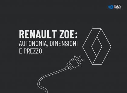 Renault Zoe: autonomia, prezzo e dimensioni