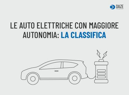 Le Auto Elettriche con maggiore autonomia