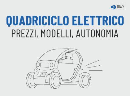 Quadriciclo elettrico: prezzi e modelli
