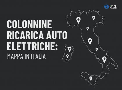 Mappa colonnine elettriche per ricarica auto