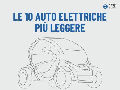 Auto elettriche più leggere