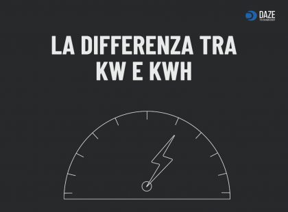 Differenze kw e kwh