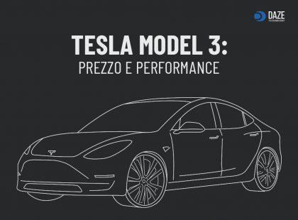 Tesla Model 3 autonomia, caratteristiche e prezzo