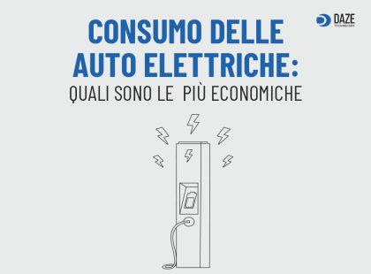 consumo auto elettriche