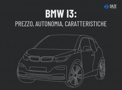BMW i3 prezzo e autonomia