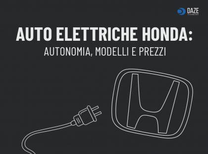 Auto Elettriche Honda: modelli e prezzi