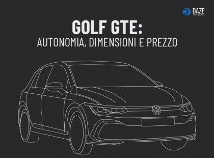 Volkswagen Golf Gte: Autonomia e Prezzo